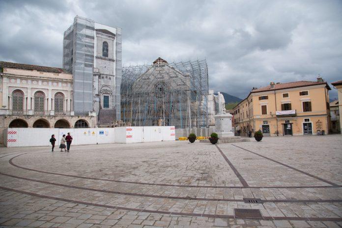 Norcia, piazza S. Benedetto